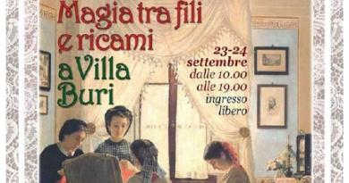 Magia tra fili e ricami a Villa Buri