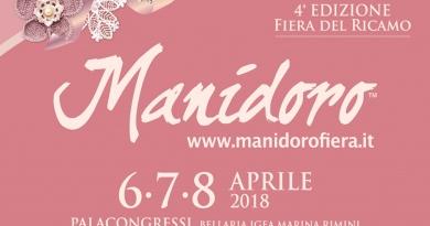 Novità a Manidoro 2018